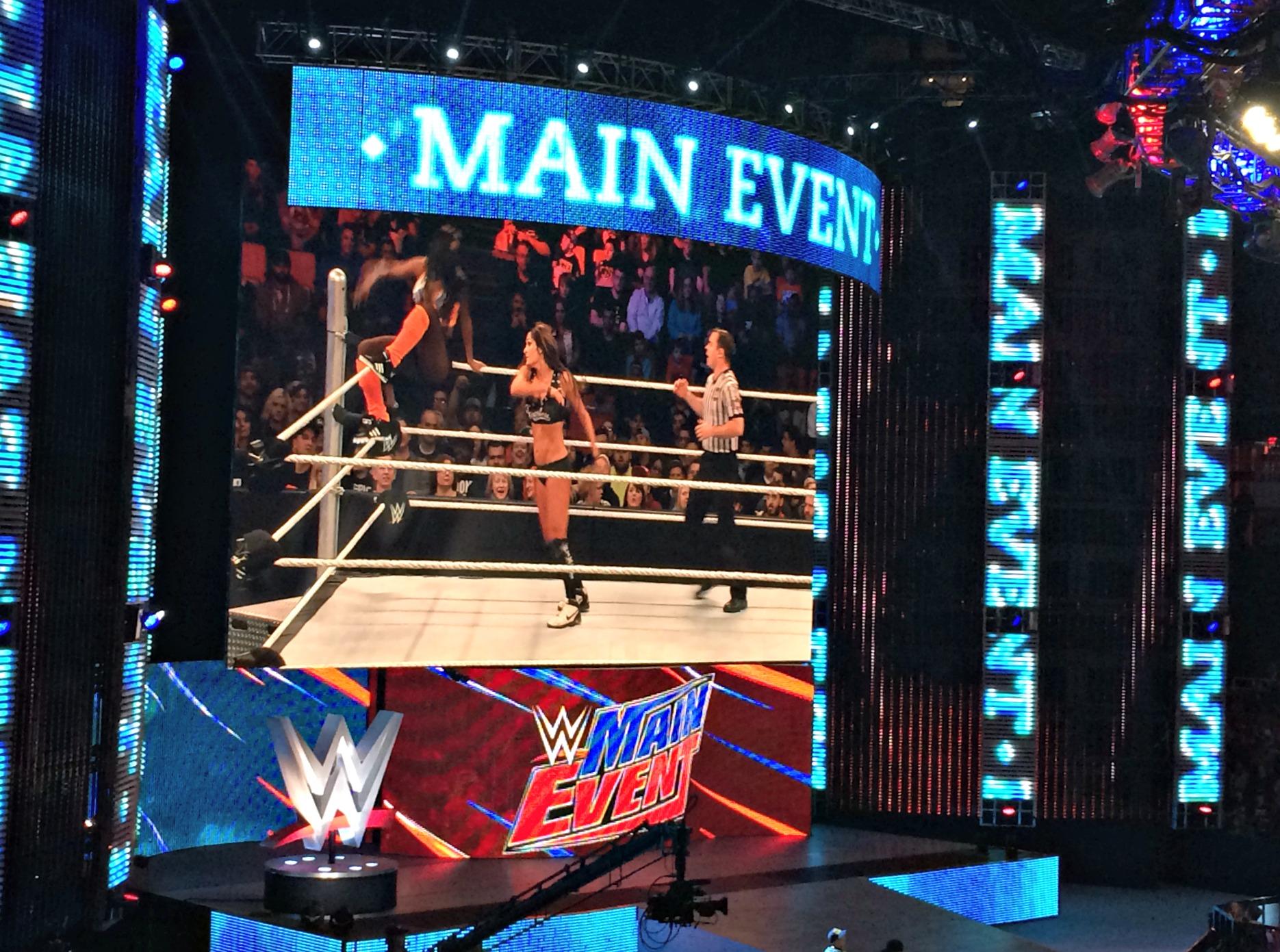 WWE Divas match