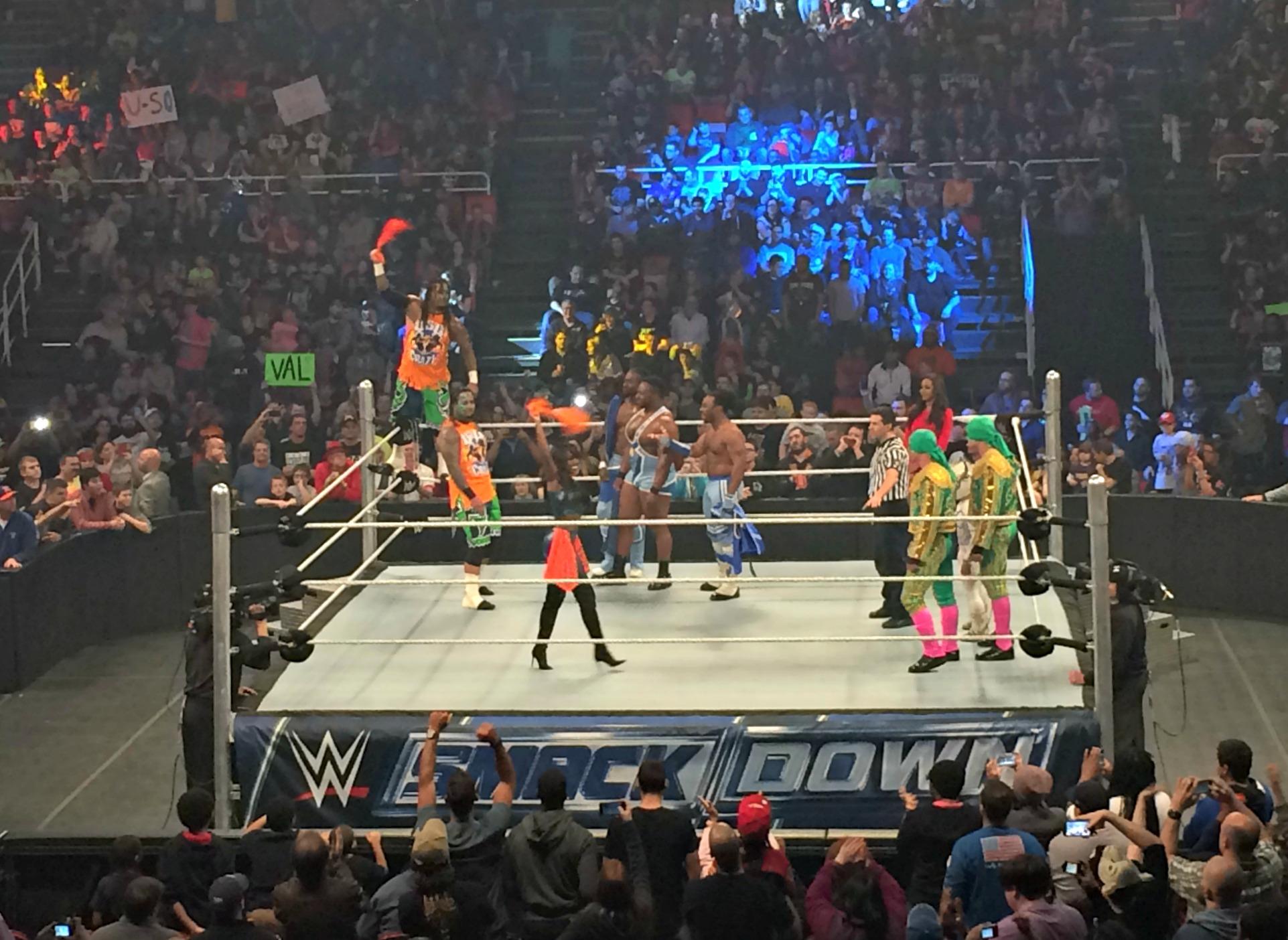 WWE SmackDown Uso twins