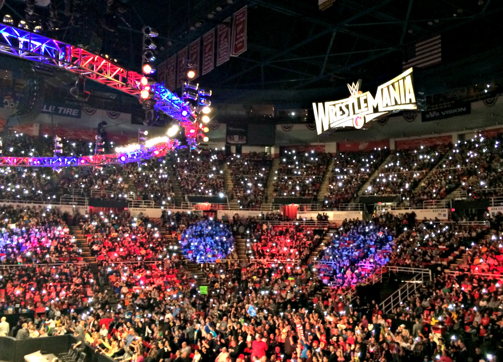 WrestleMania WWE Detroit