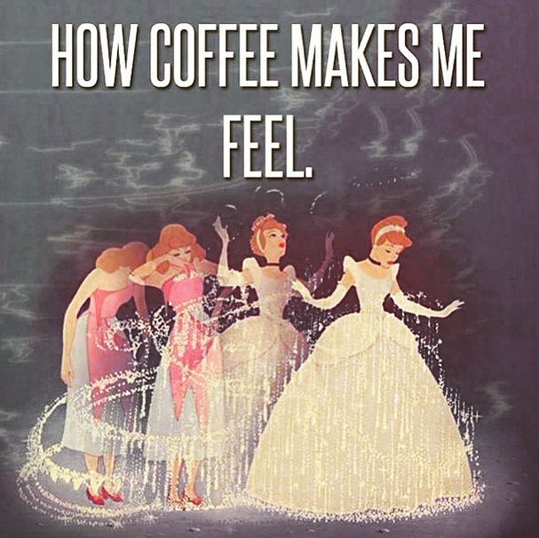 coffee is princess juice
