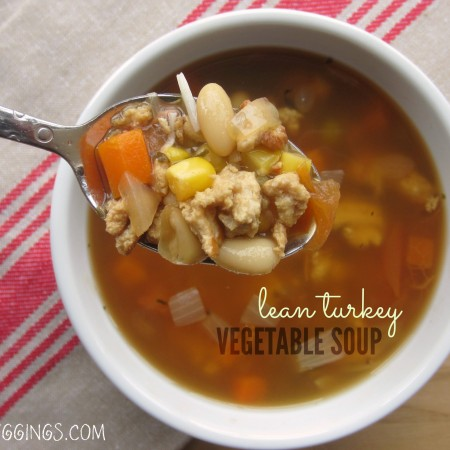 lean turkey mixed vegetable soup