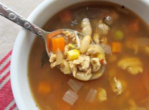 lean turkey vegetable soup