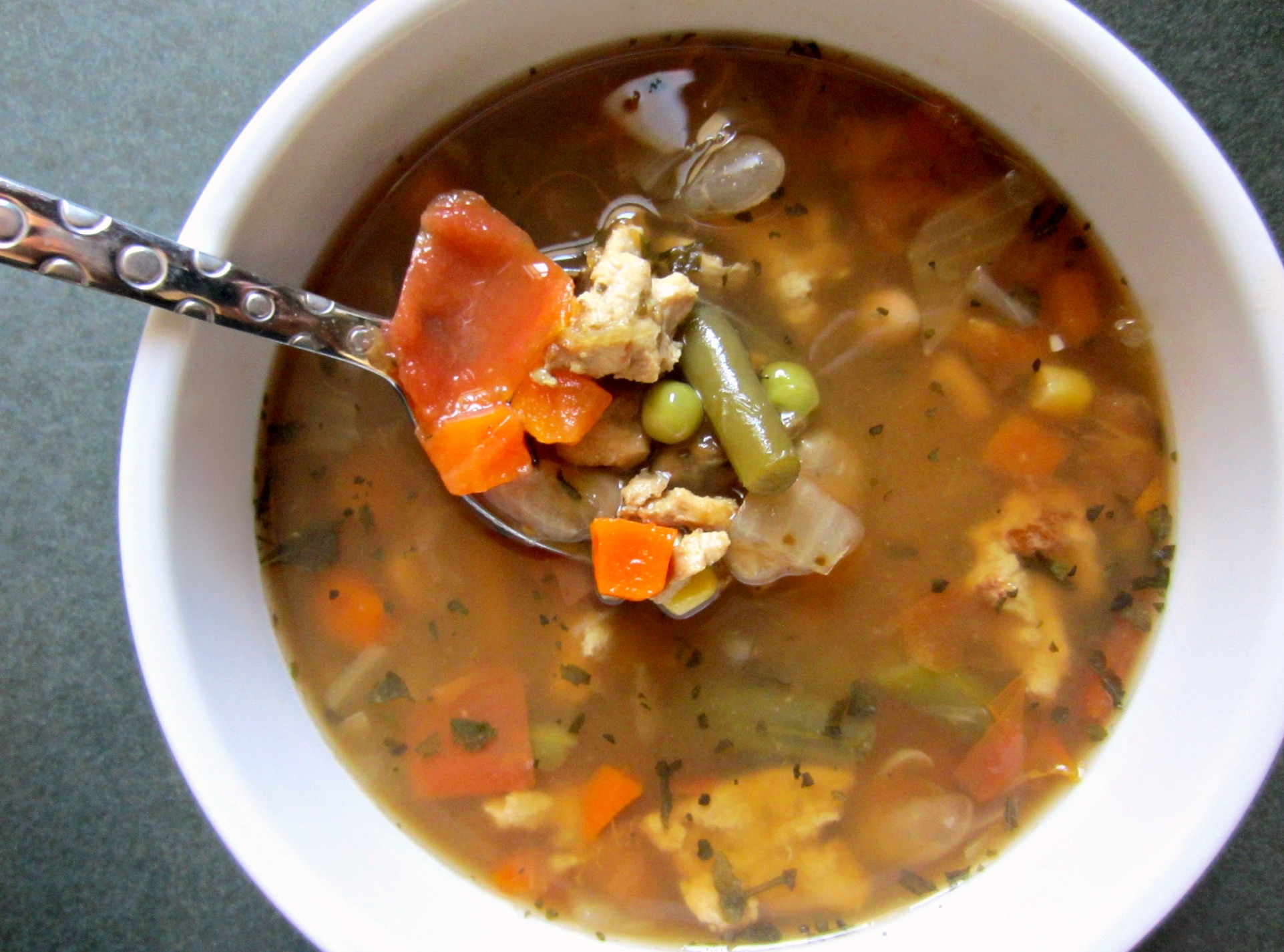 light and lean turkey vegetable soup