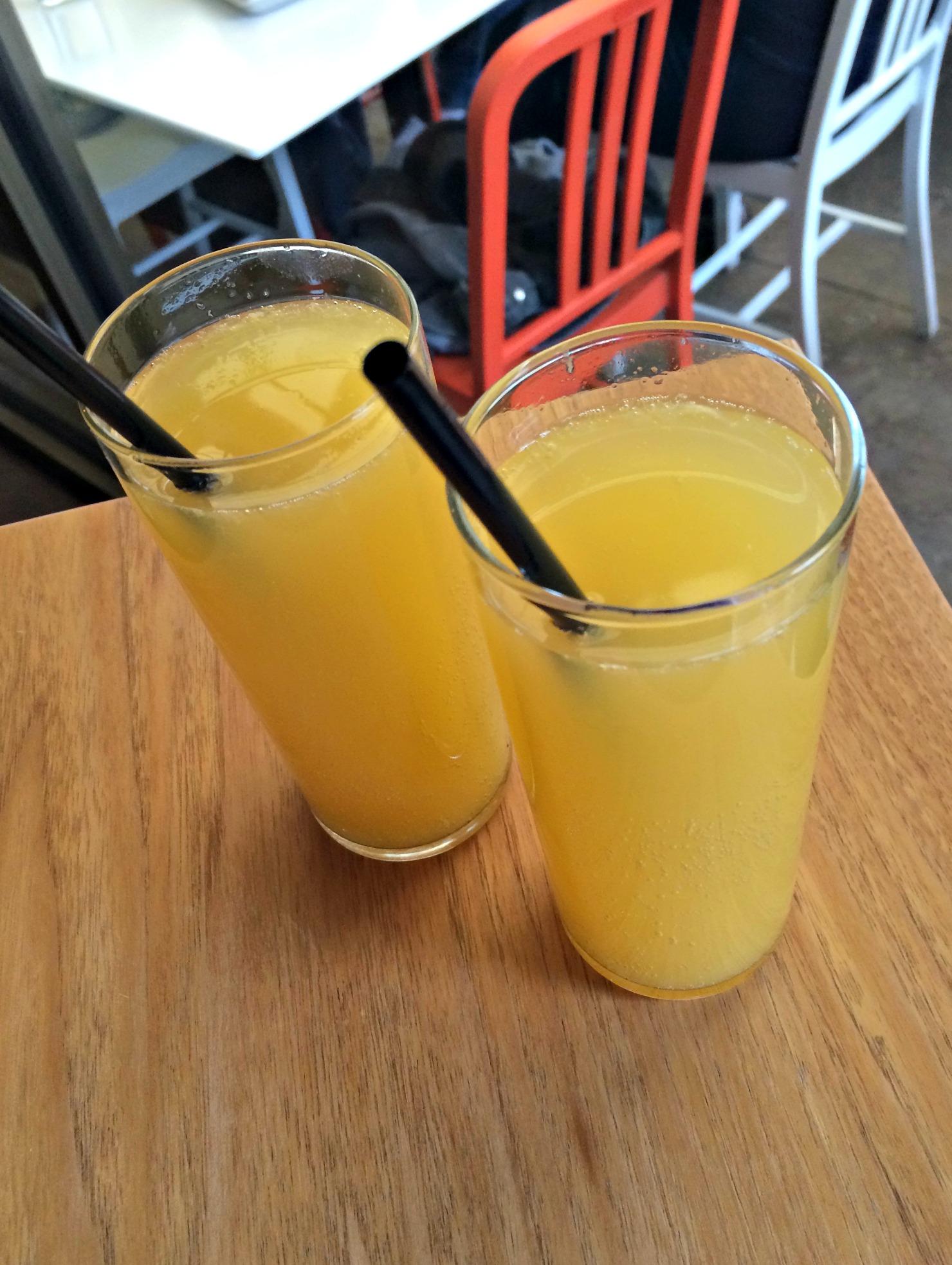 mimosas at social