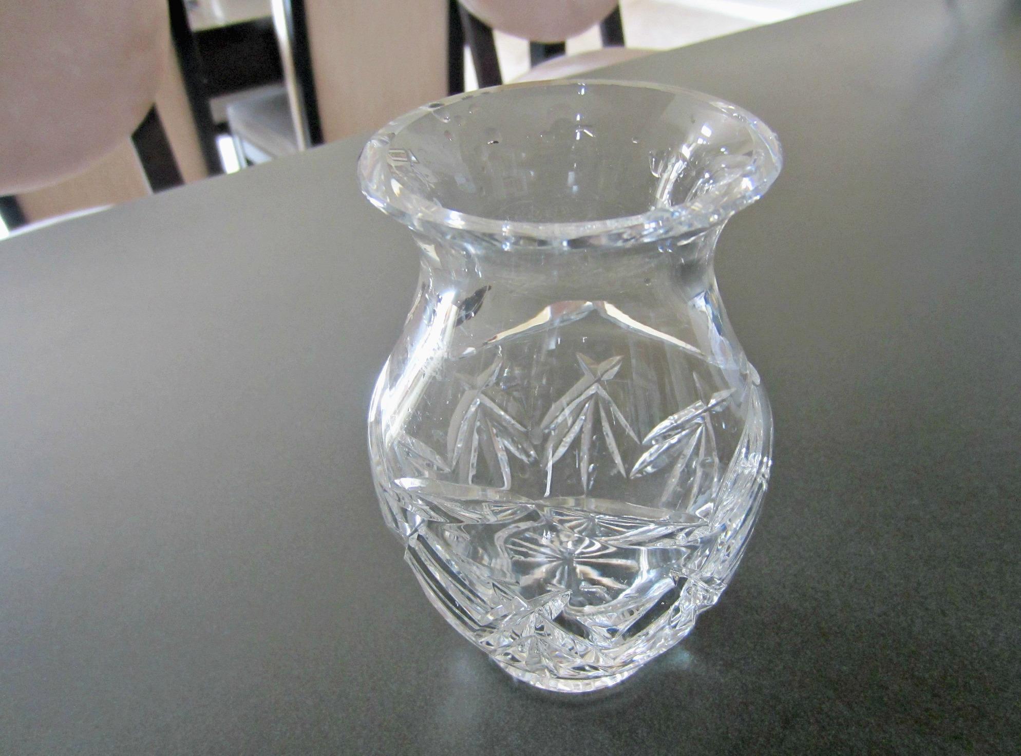 nana's crystal vase