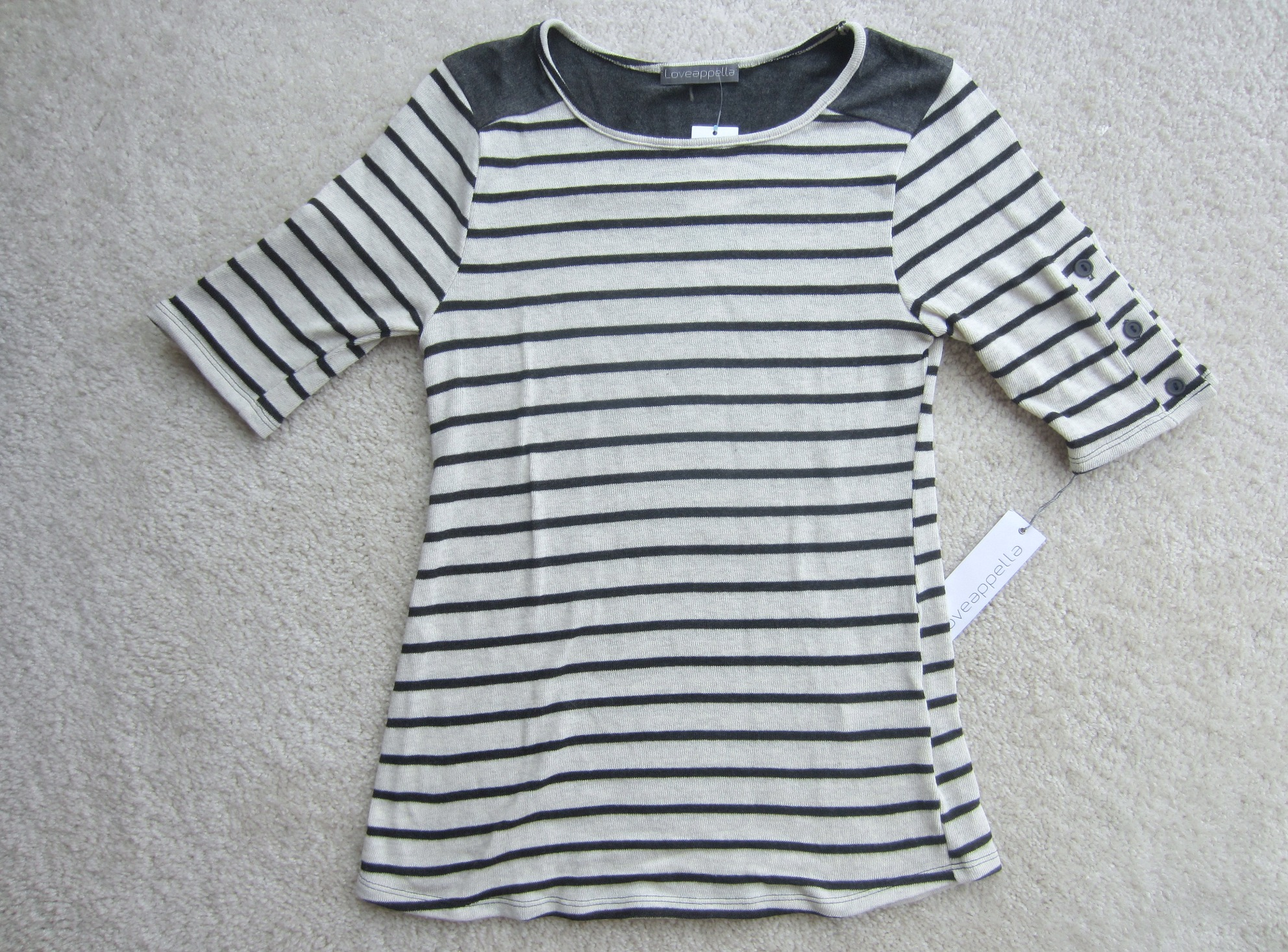 stitch fix striped knit top