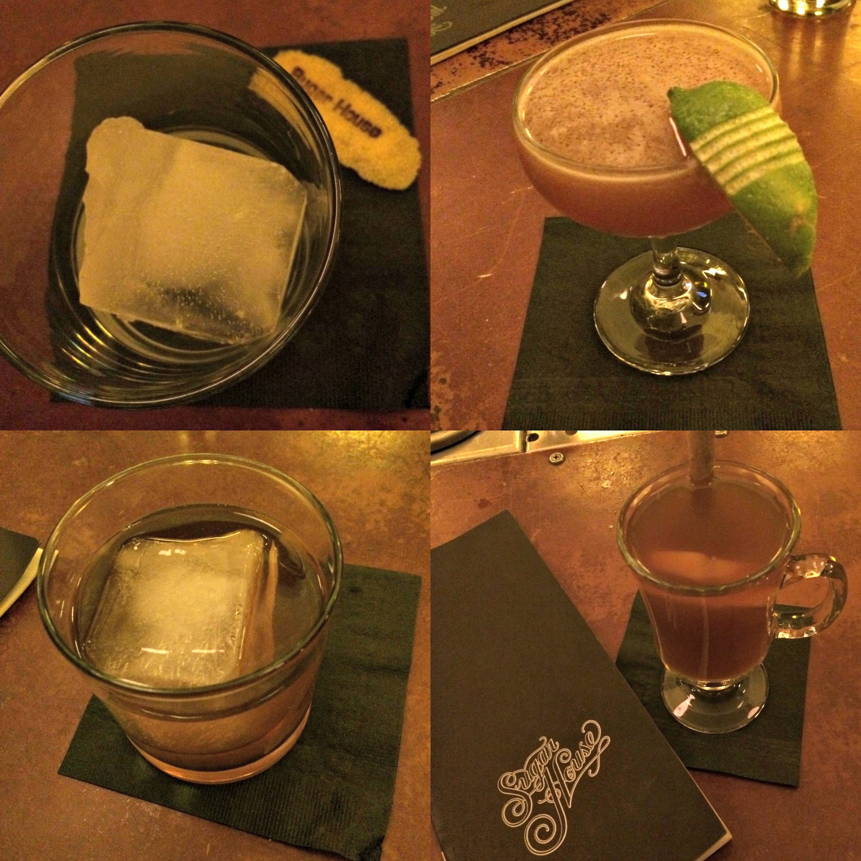 sugar house specialty drinks