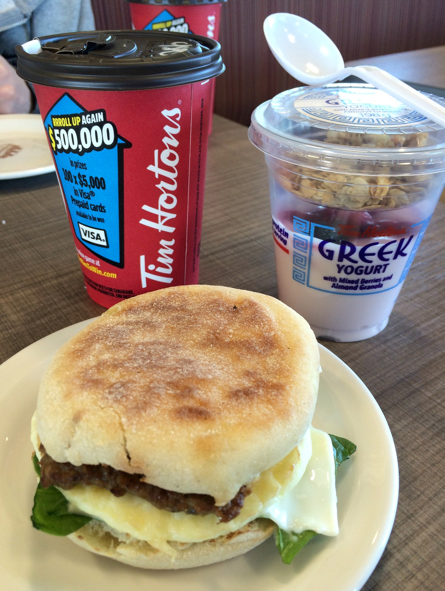 tim hortons healthier breakfast