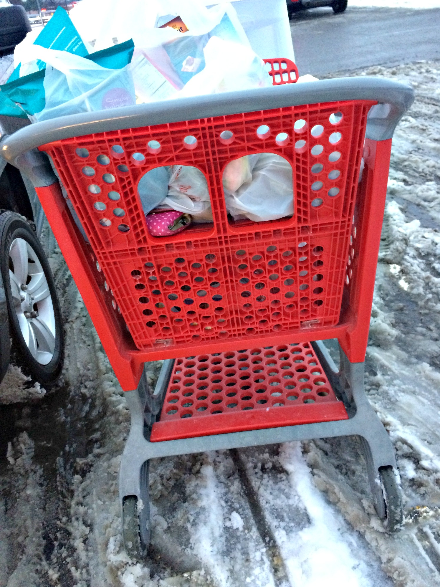 winter grocery shopping problems