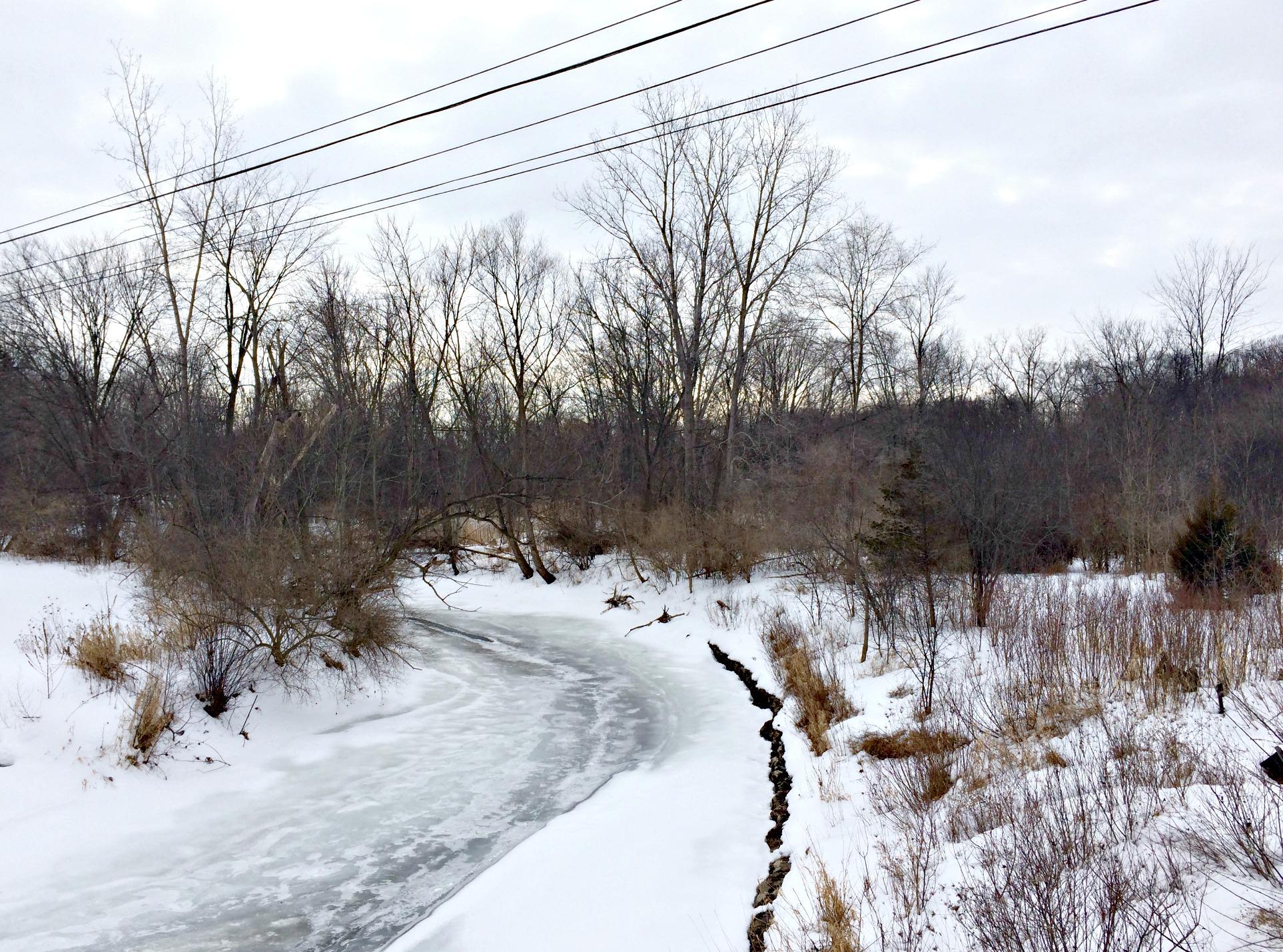 winter running loop overlook