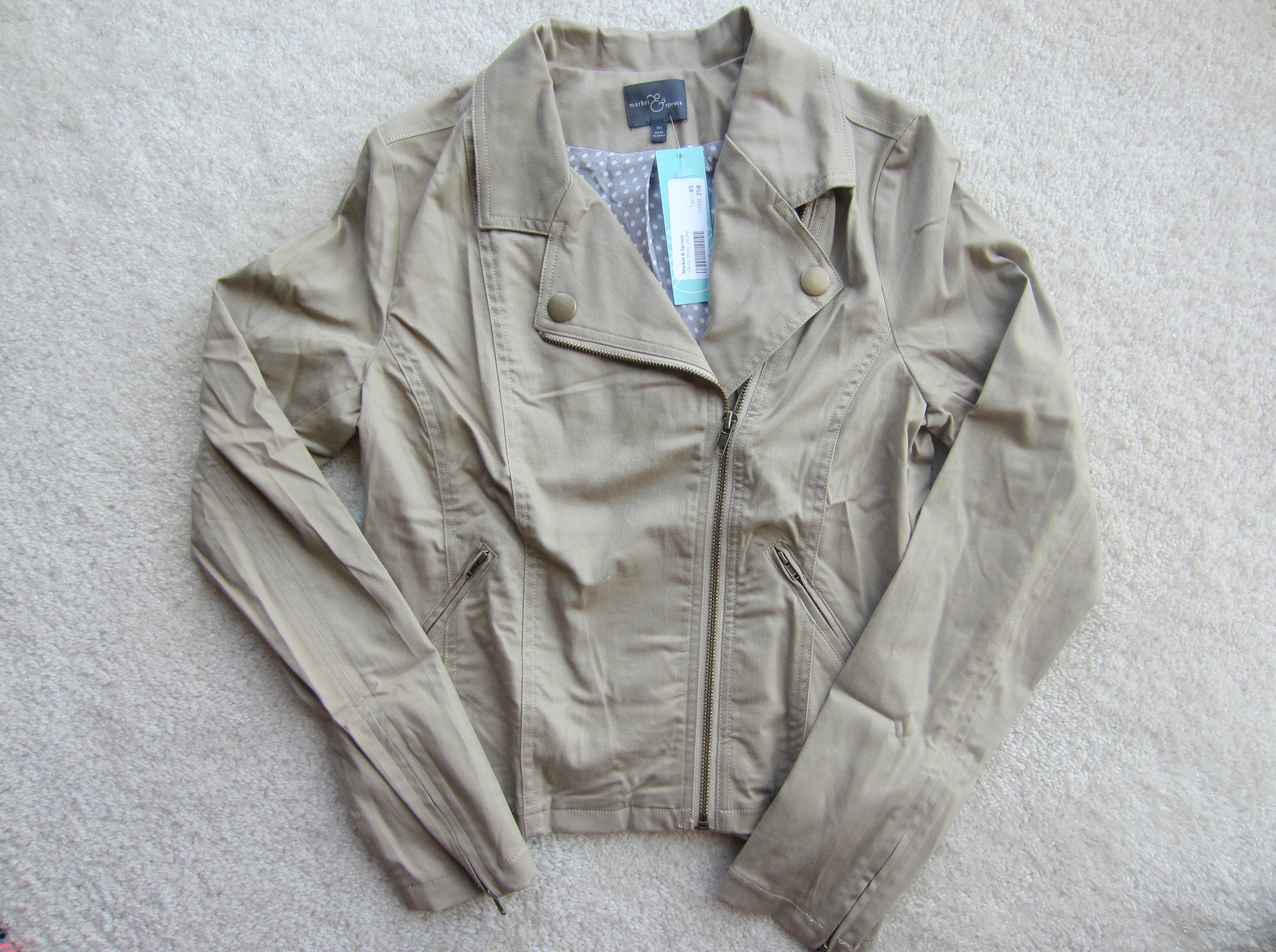 Market & Spruce Viktor Moto Jacket Stitch Fix