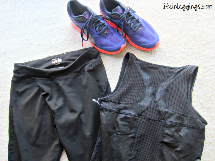 PUMA Ignite running shoe and apparel