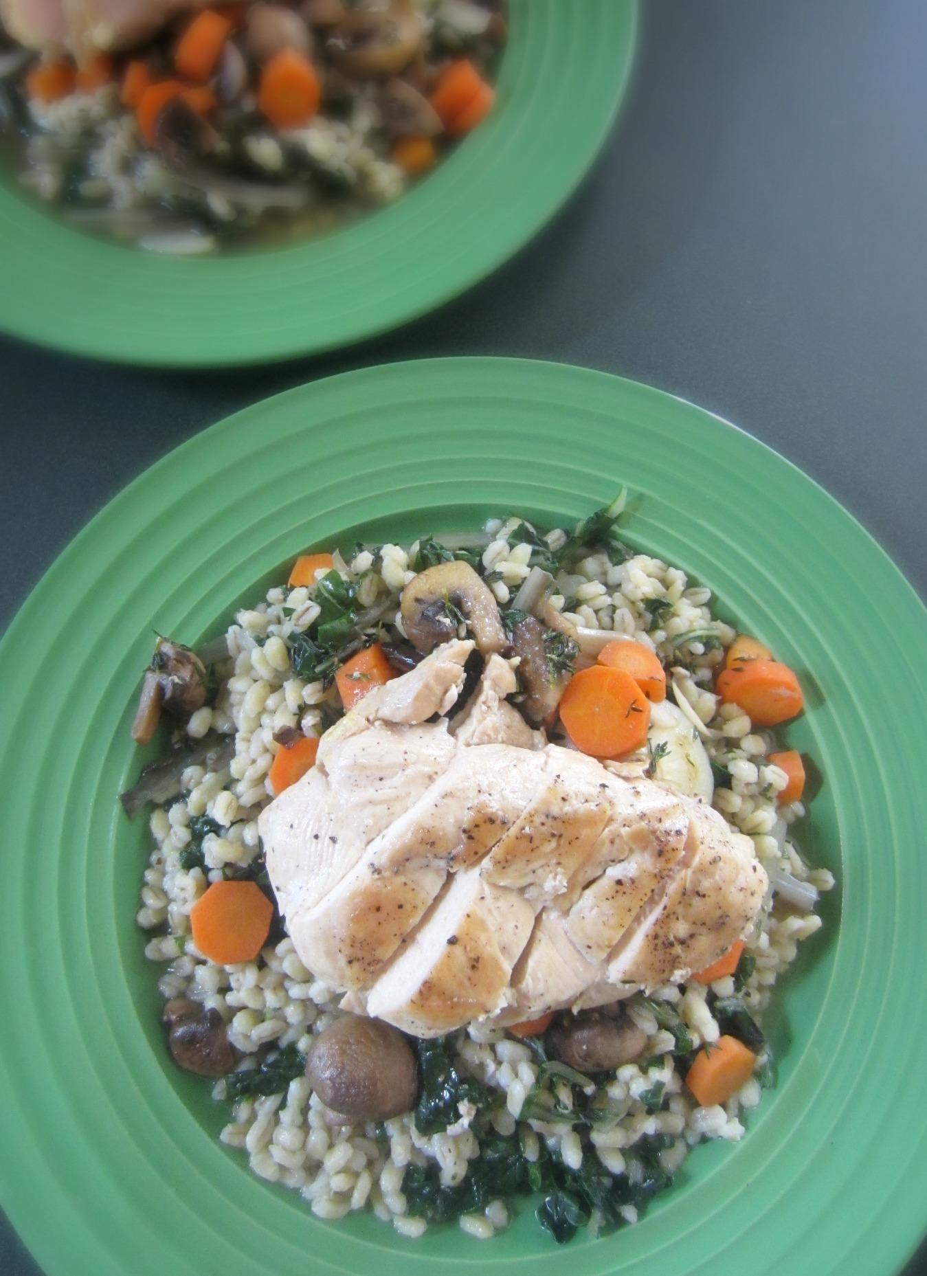 Pan-Seared Chicken Verjus Blue Apron Meal 2