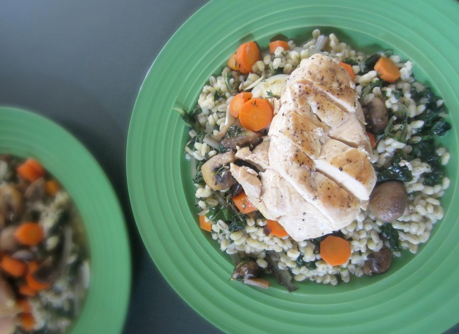 Pan-Seared Chicken Verjus Blue Apron Meal 3