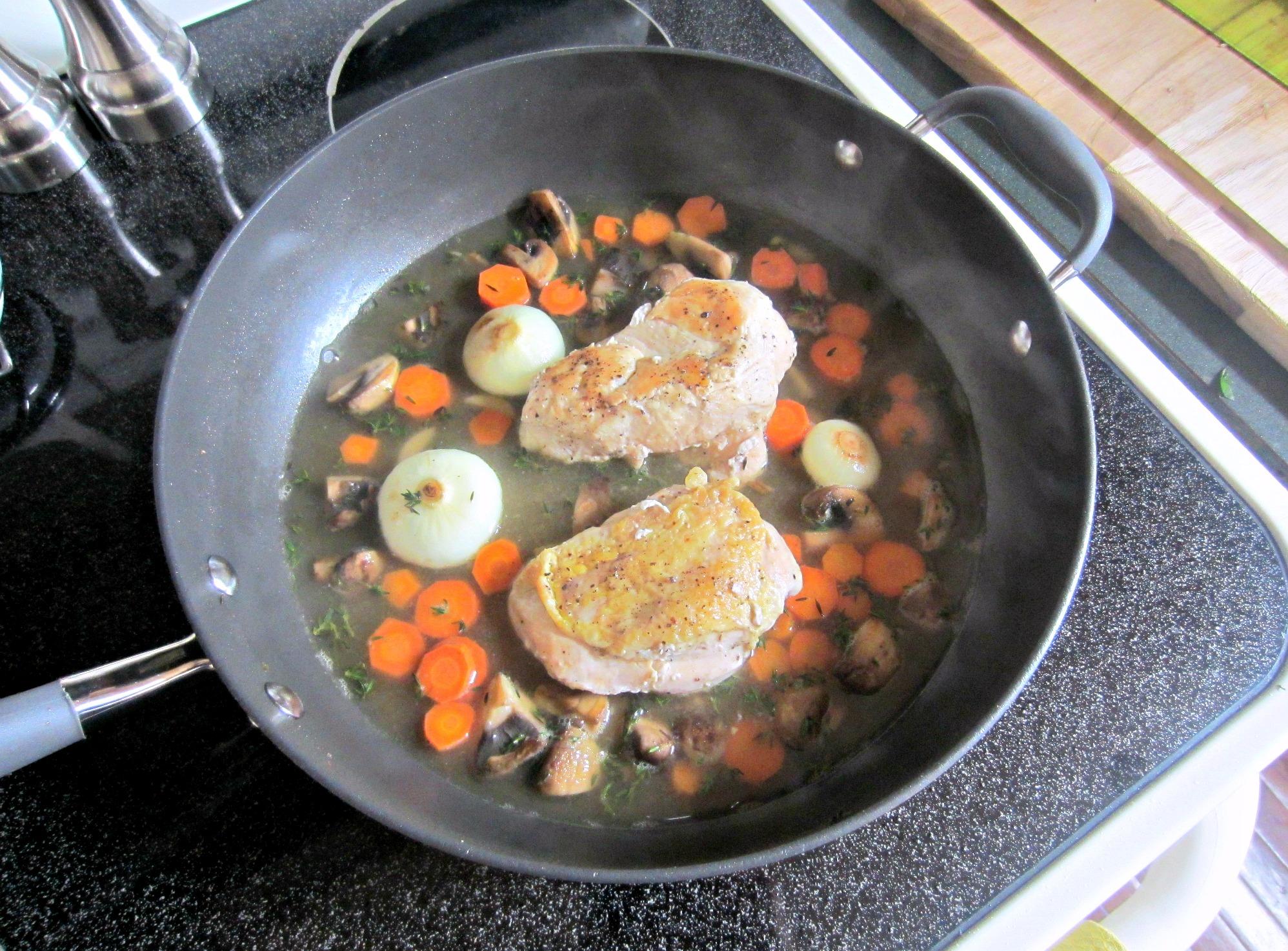 Pan-Seared Chicken Verjus Blue Apron Meal prep 5