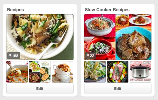 Pinterest recipes and slow cooker recipes