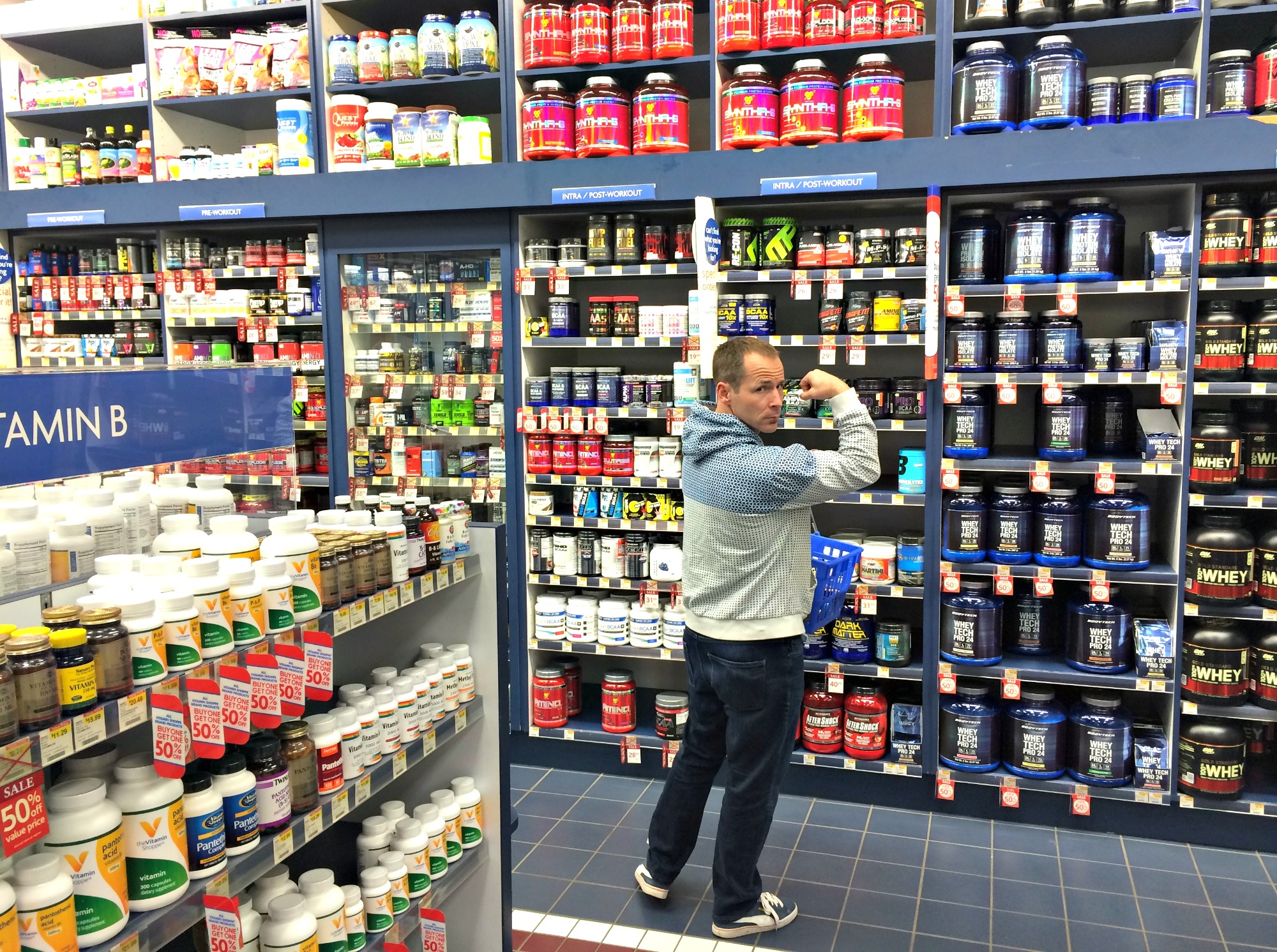 Scott's strong at vitamin shoppe
