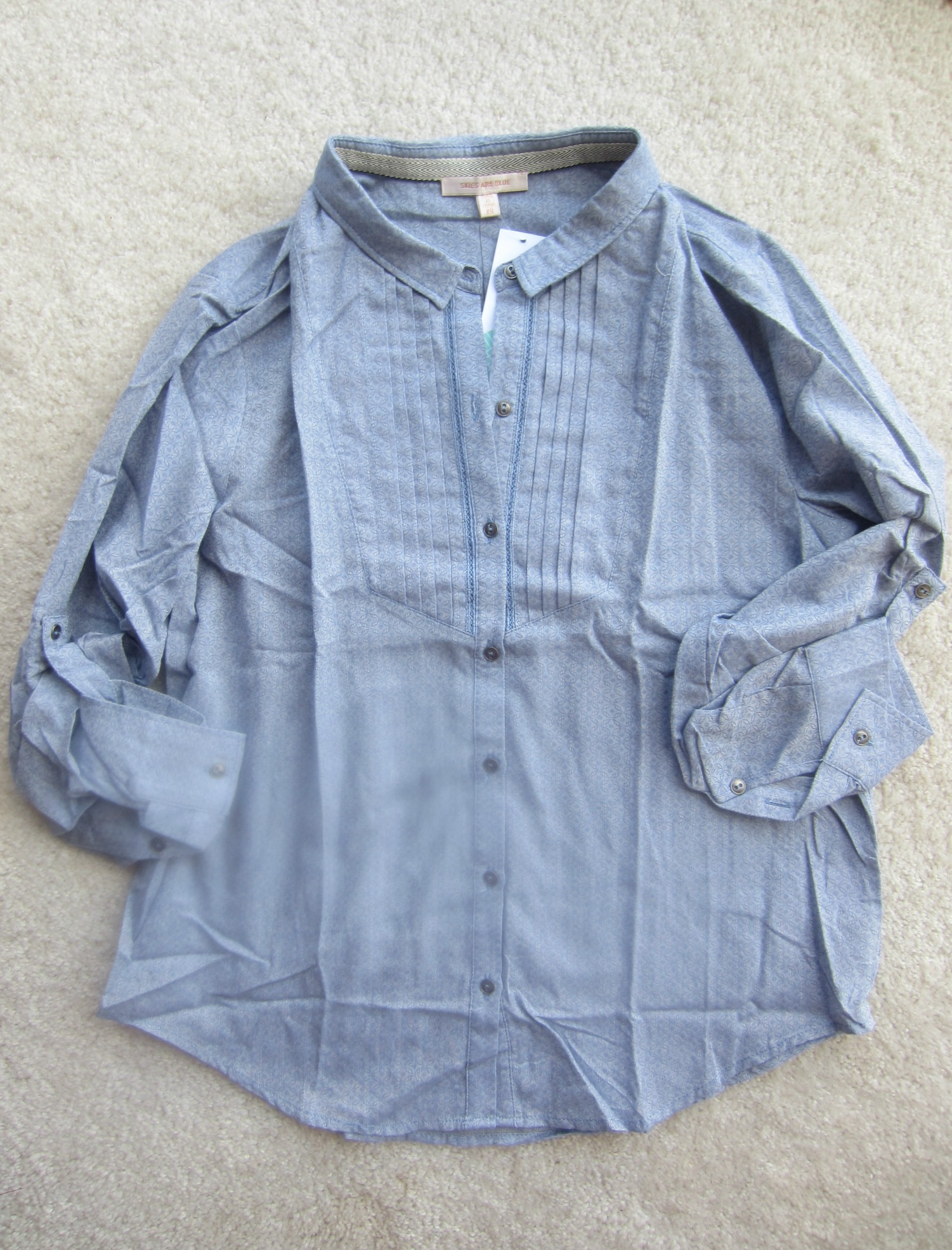Skies are Blue Demitruis Button Up Top Stitch Fix