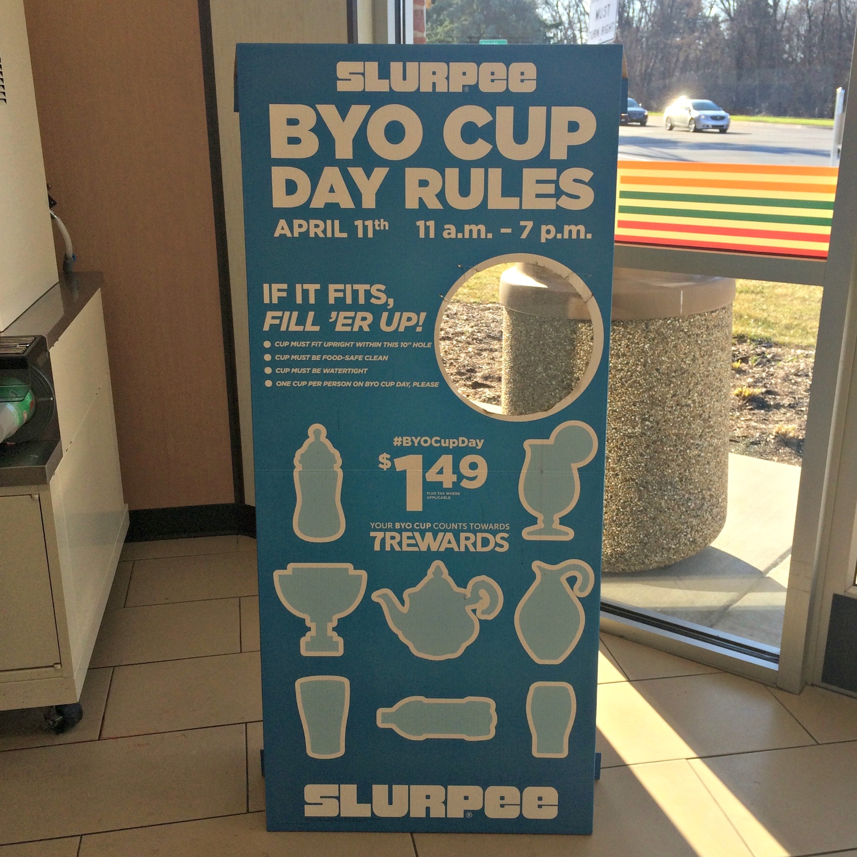 Slurpee BYO Cup Day April 11th 2015