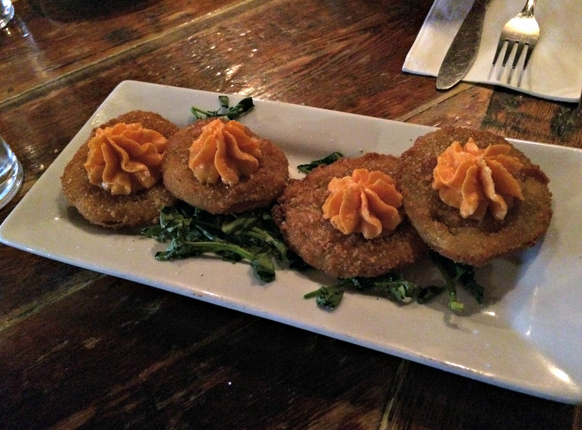 Southern Hospitality fried green tomatoes