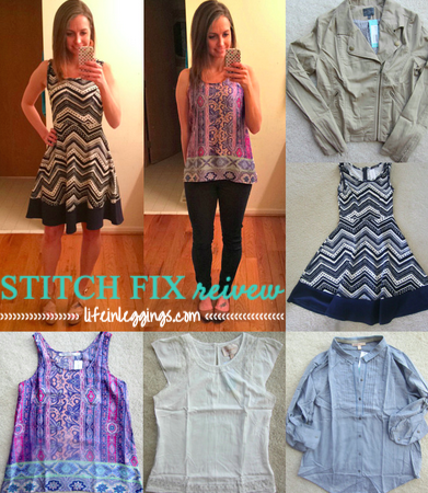 Stitch Fix April 2015 Review - Life In Leggings