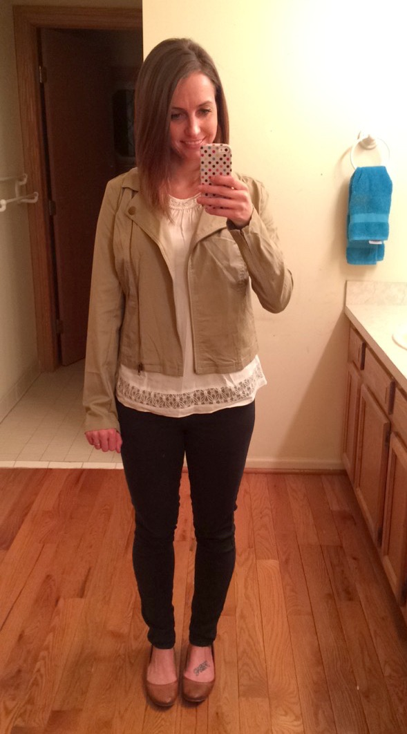 Stitch Fix Market & Spruce Victor Moto Jacket