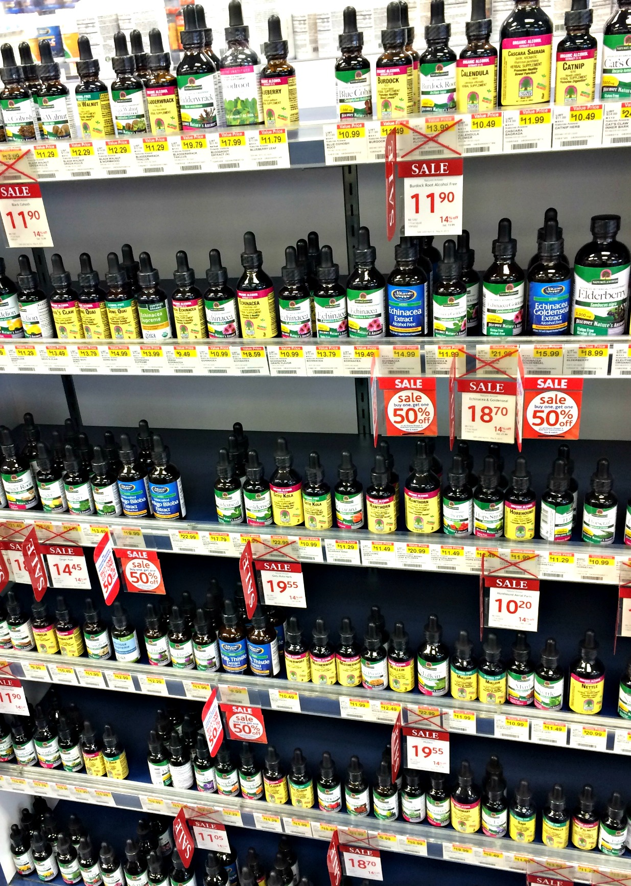 Vitamin shoppe herbs and oils