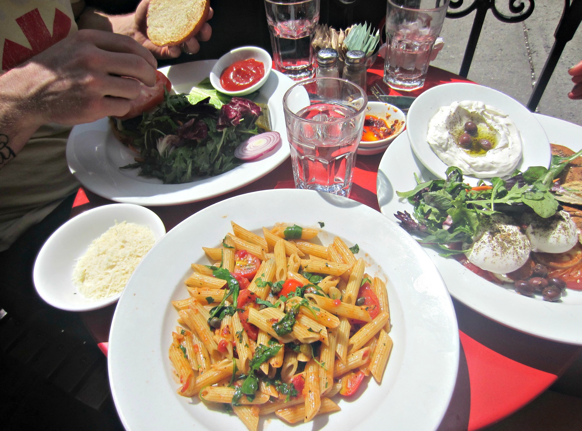 cafe mogador east village nyc lunches