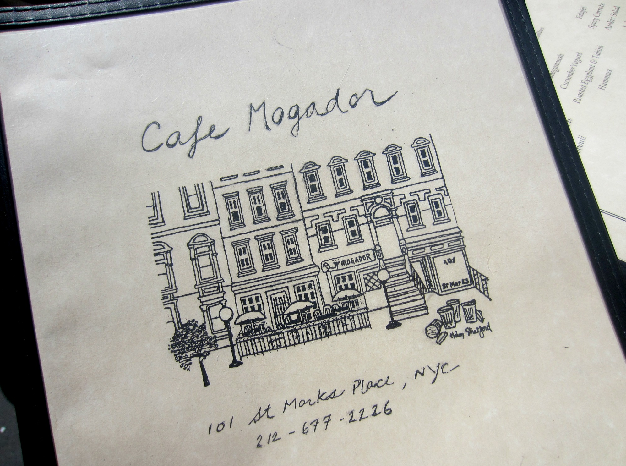 cafe mogador east village nyc