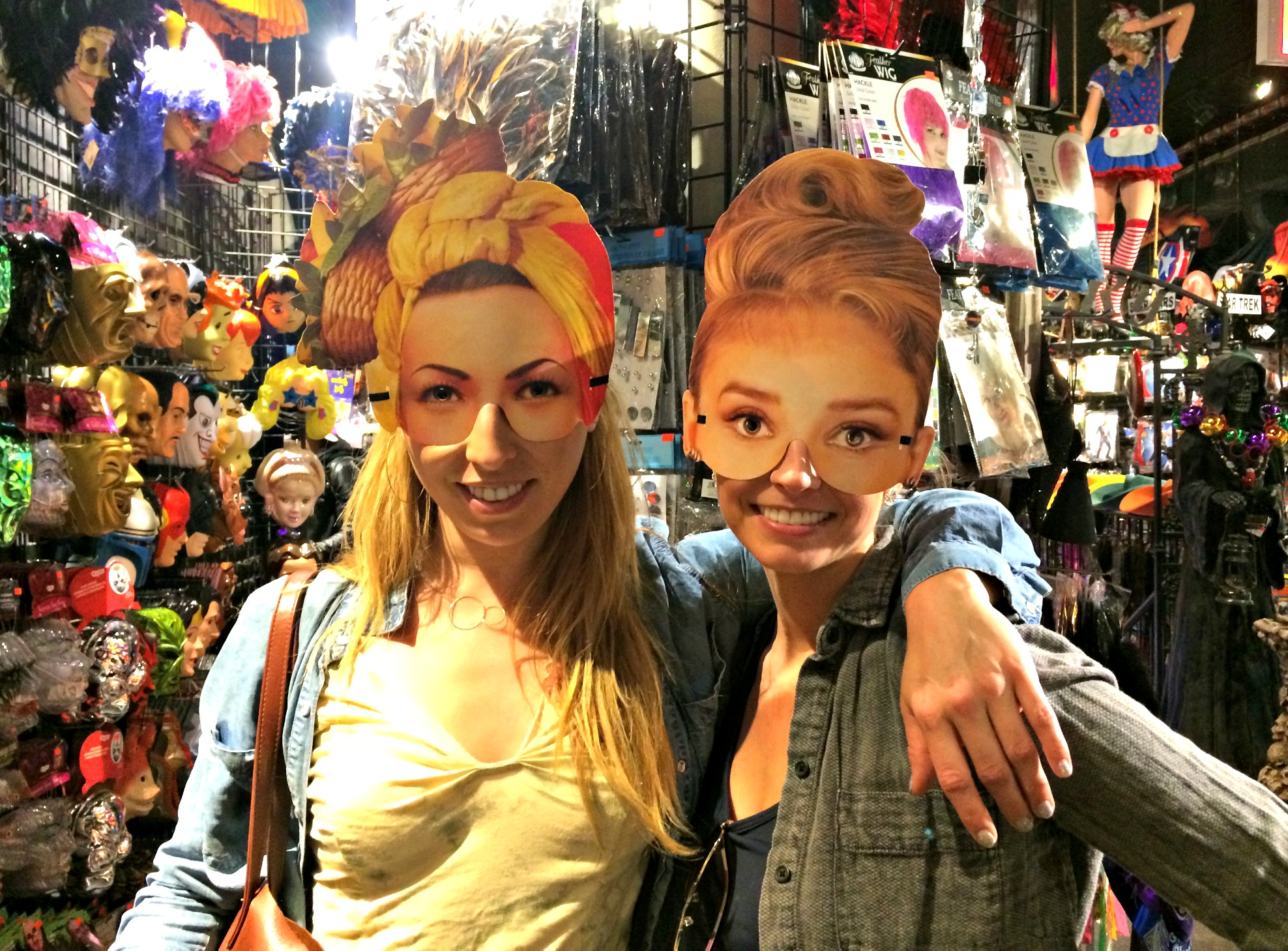 funny paper face masks costume store