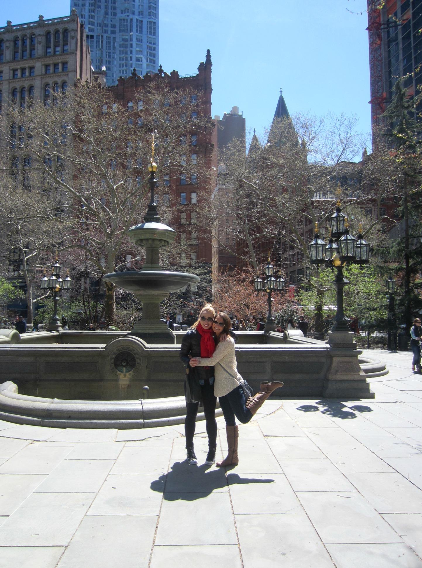 new york walking with lauren