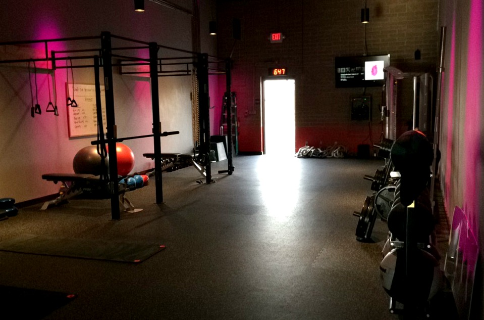 rock city fitness weight room