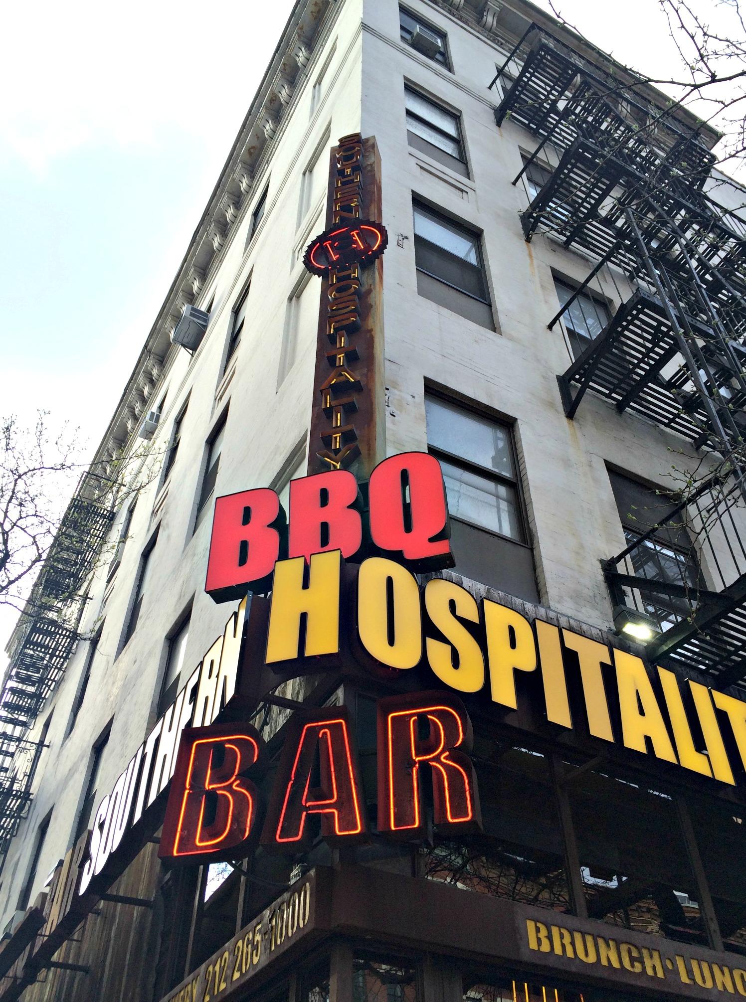 southern hospitality bbq hospitality bar