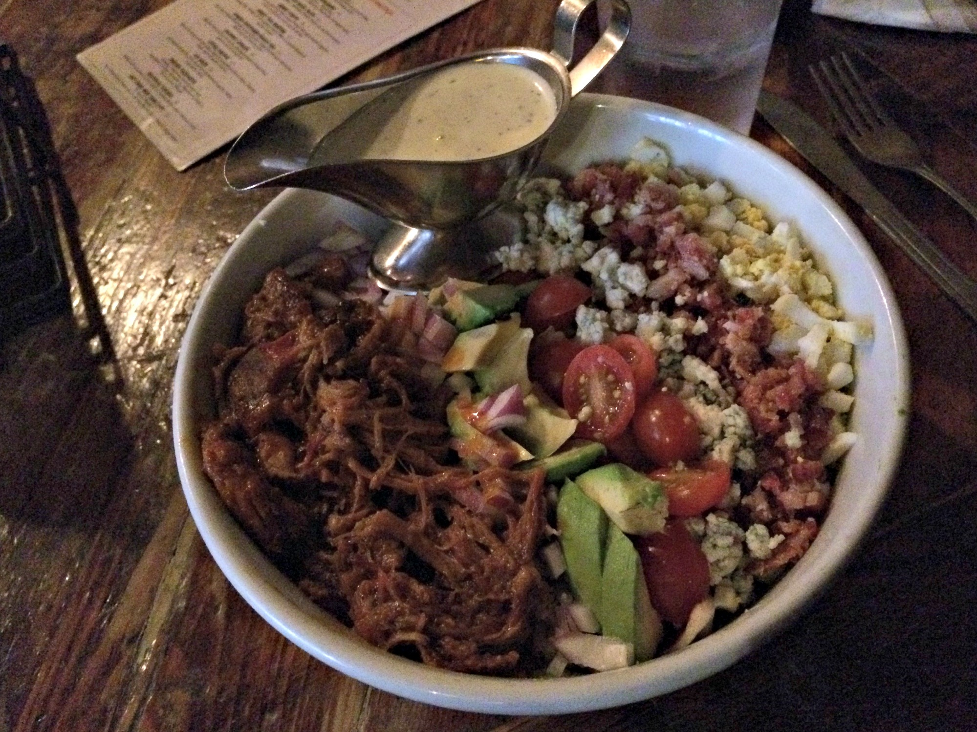 southern hospitality not-so cobb salad