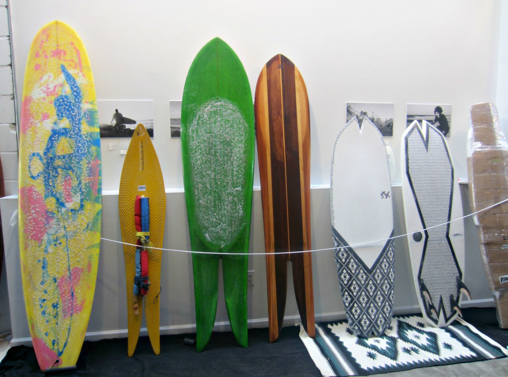 surf board art gallery