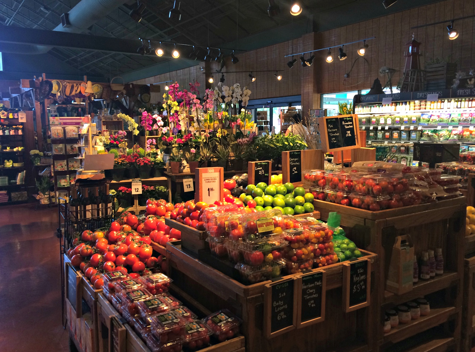 the fresh market inside