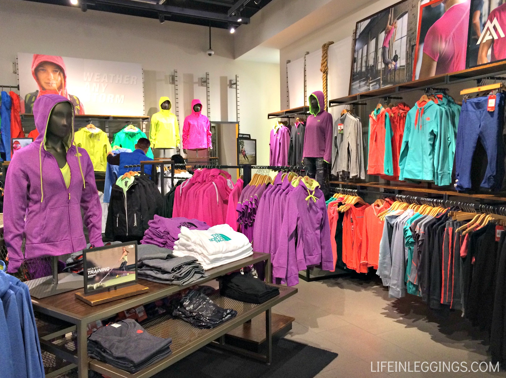 the north face new mountain athletics clothing