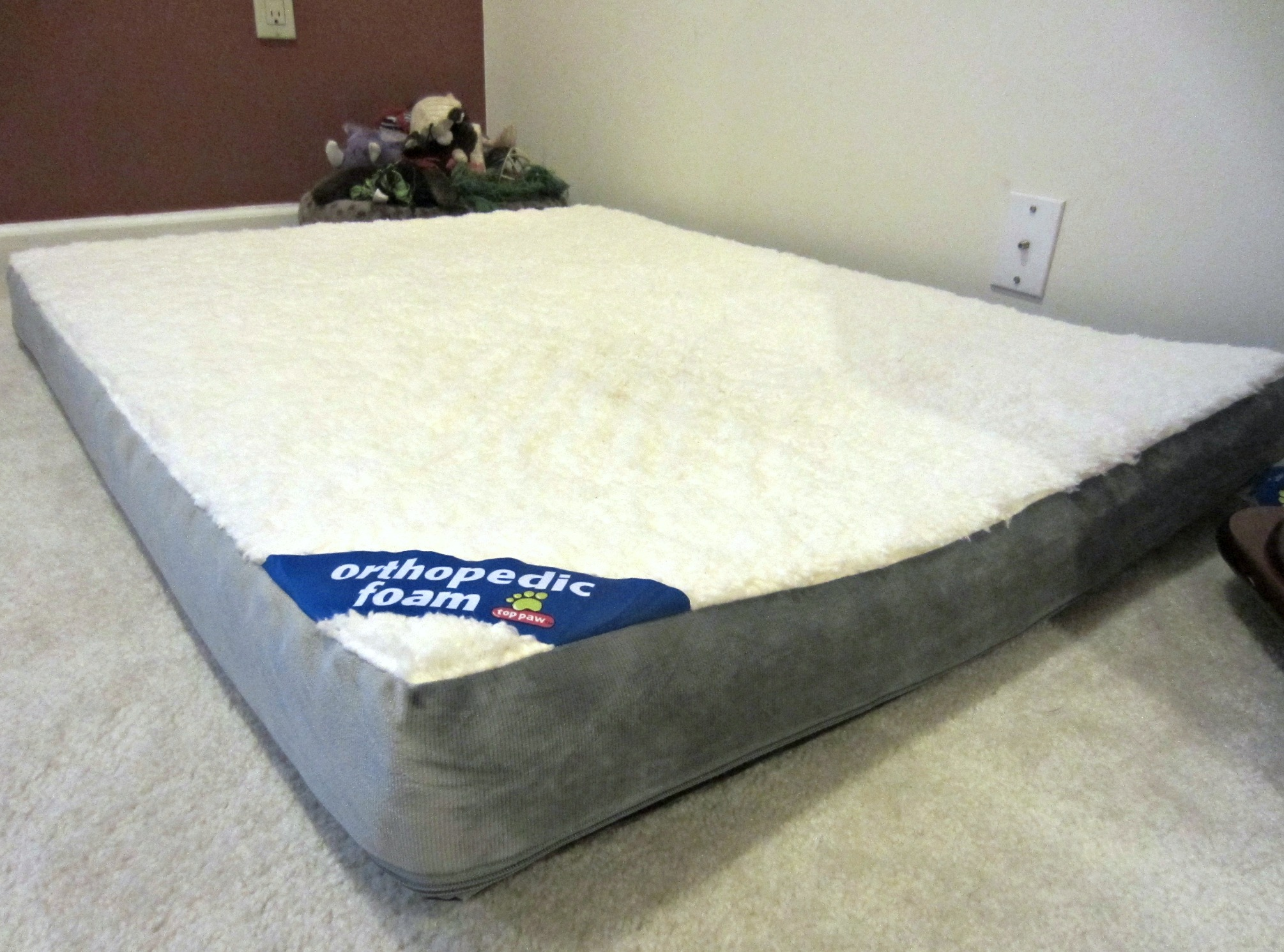 top paw orthopedic foam bed for dogs