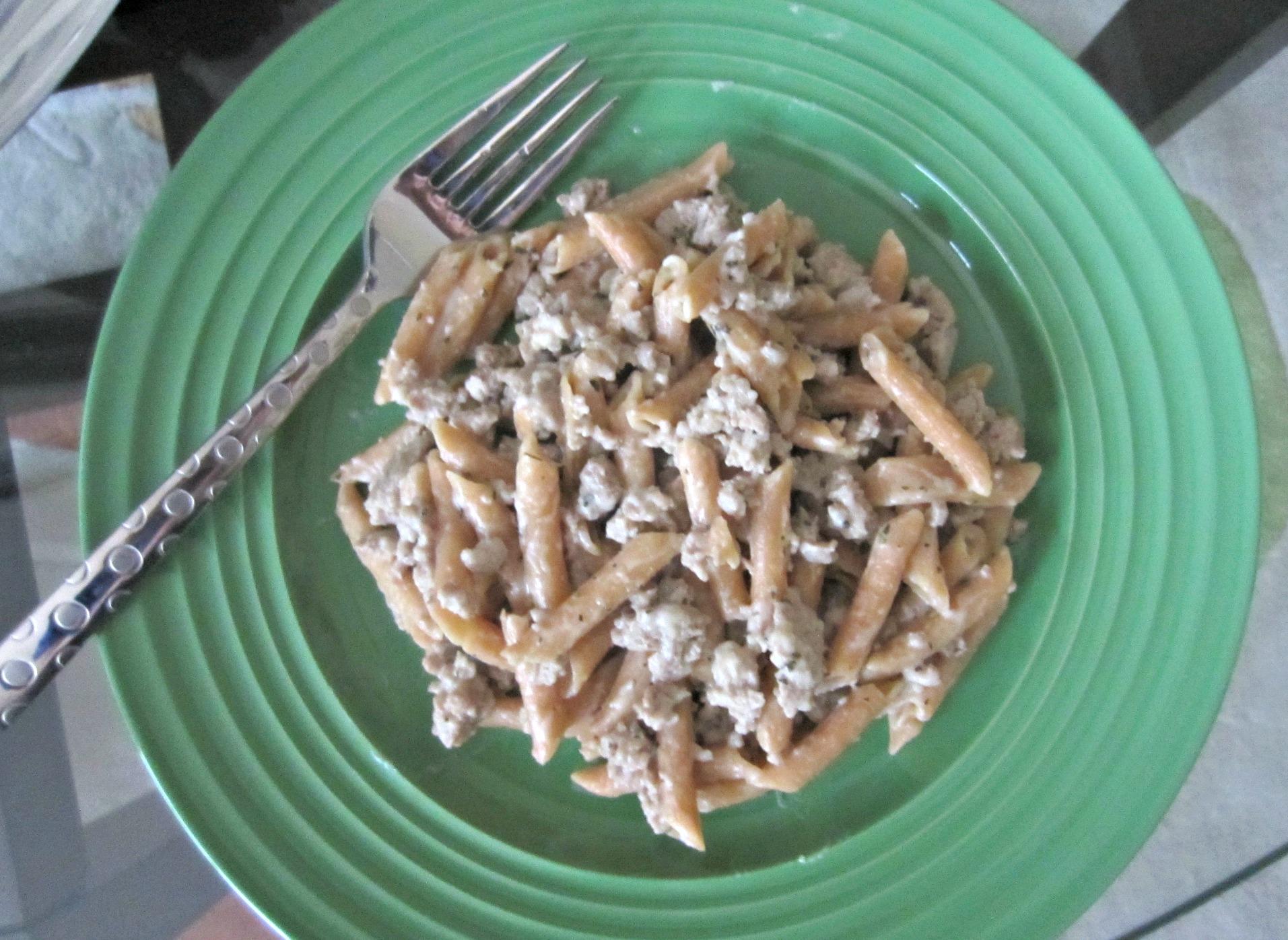 vans gluten free creamy herb & garlic pasta