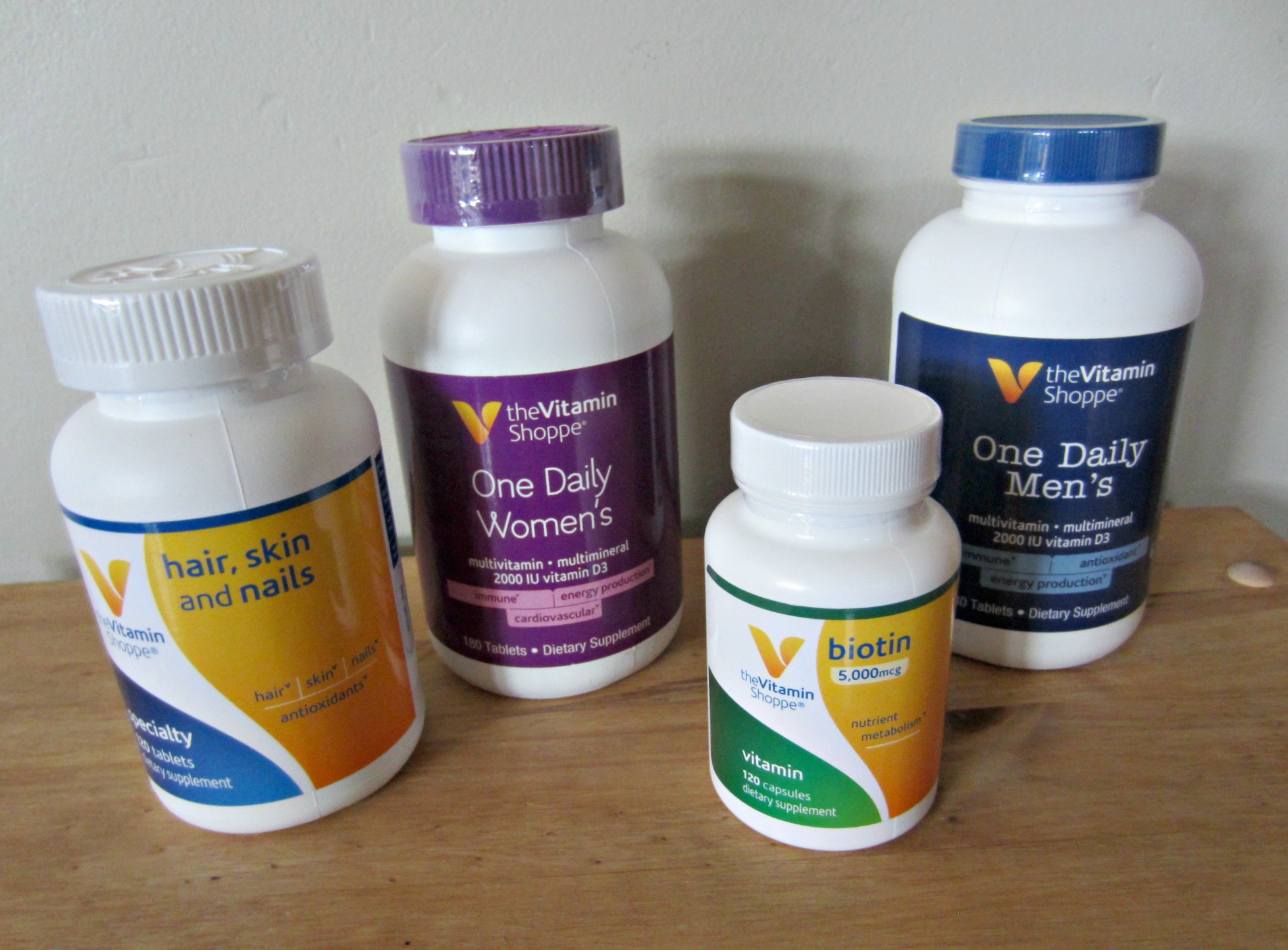 vitamin shoppe brand vitamins and supplements
