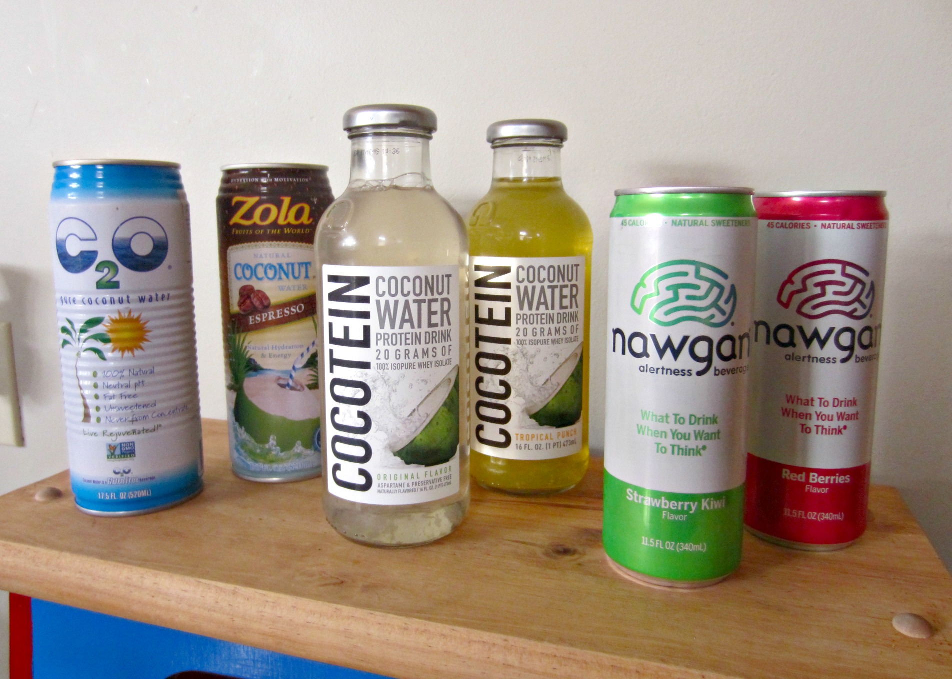 vitamin shoppe coconut waters and nawgan drink