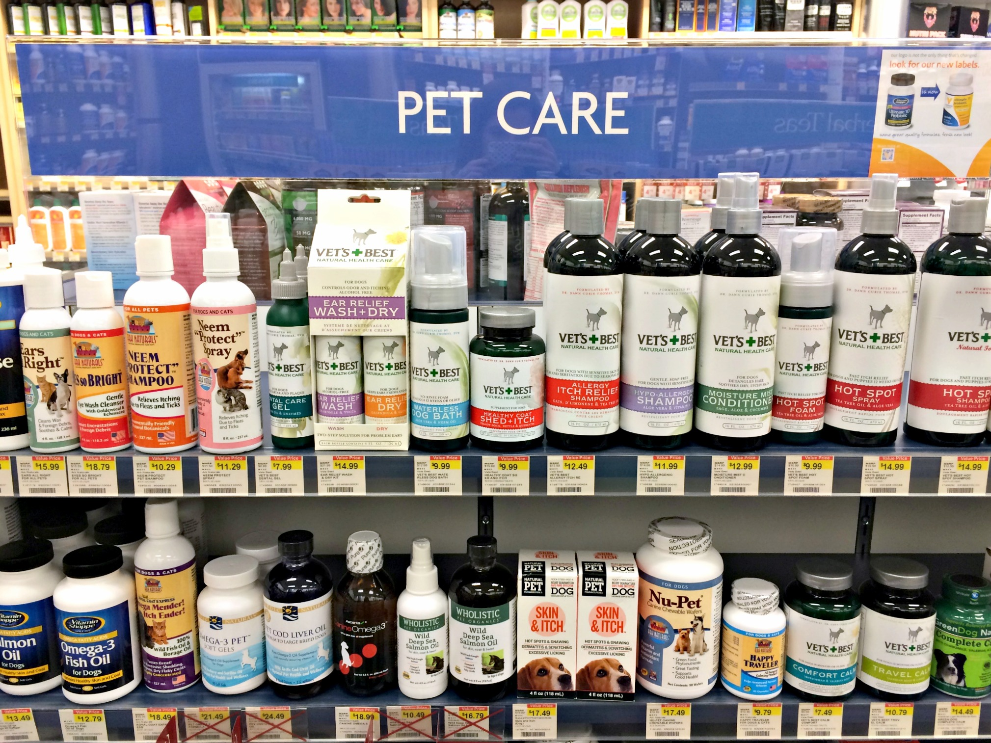 vitamin shoppe pet care