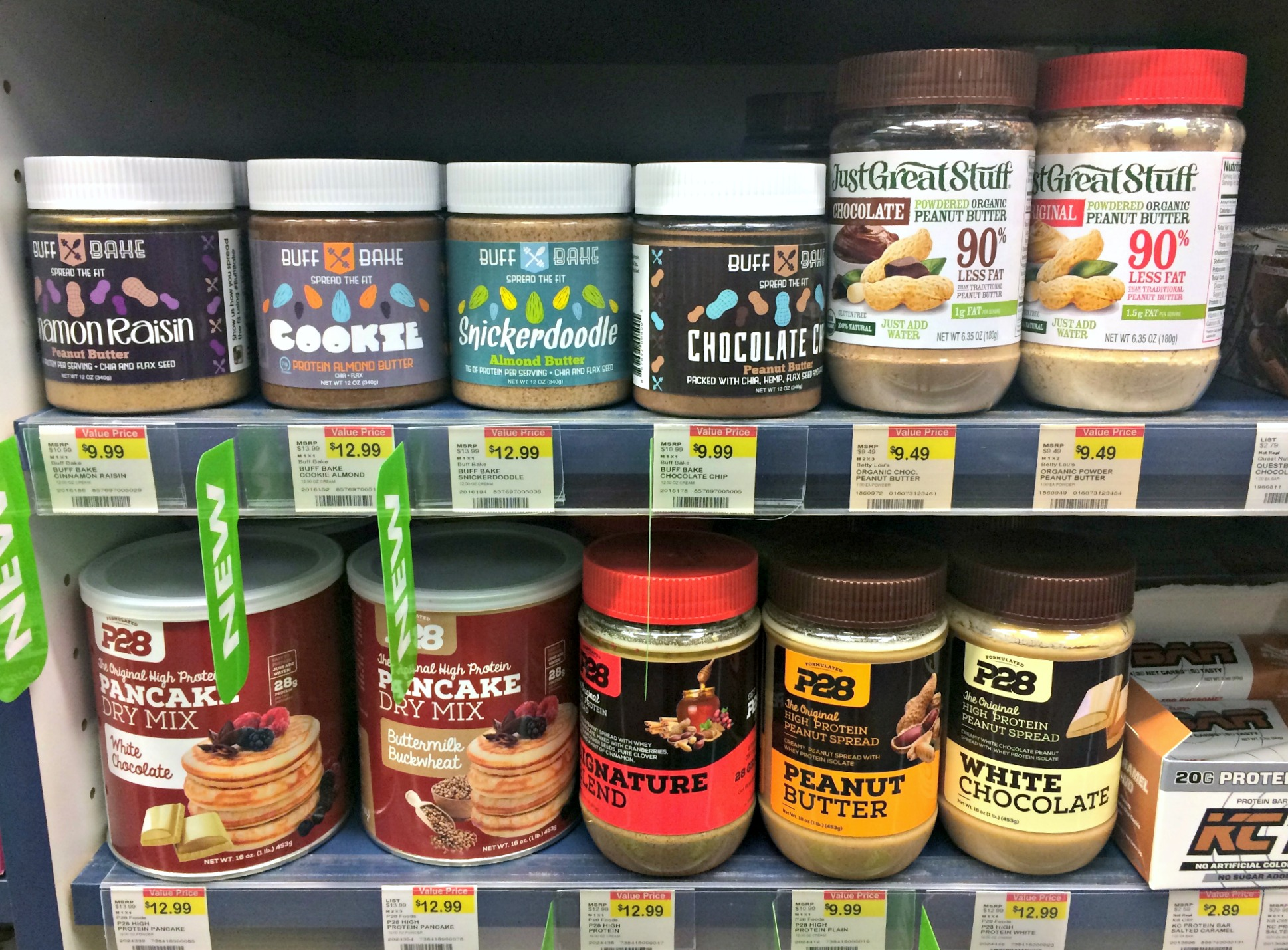 vitamin shoppe specialty peanut butter and mixes