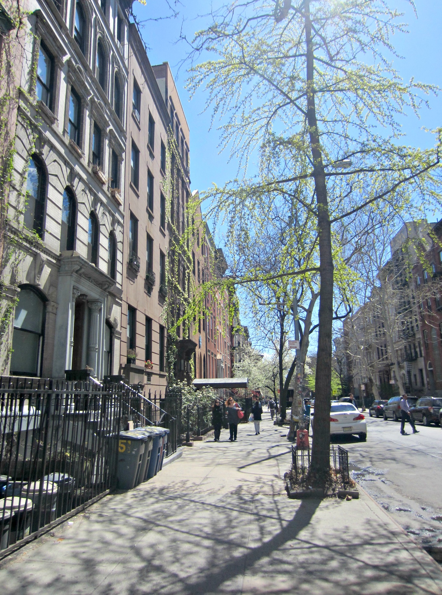 walk in the east village NYC
