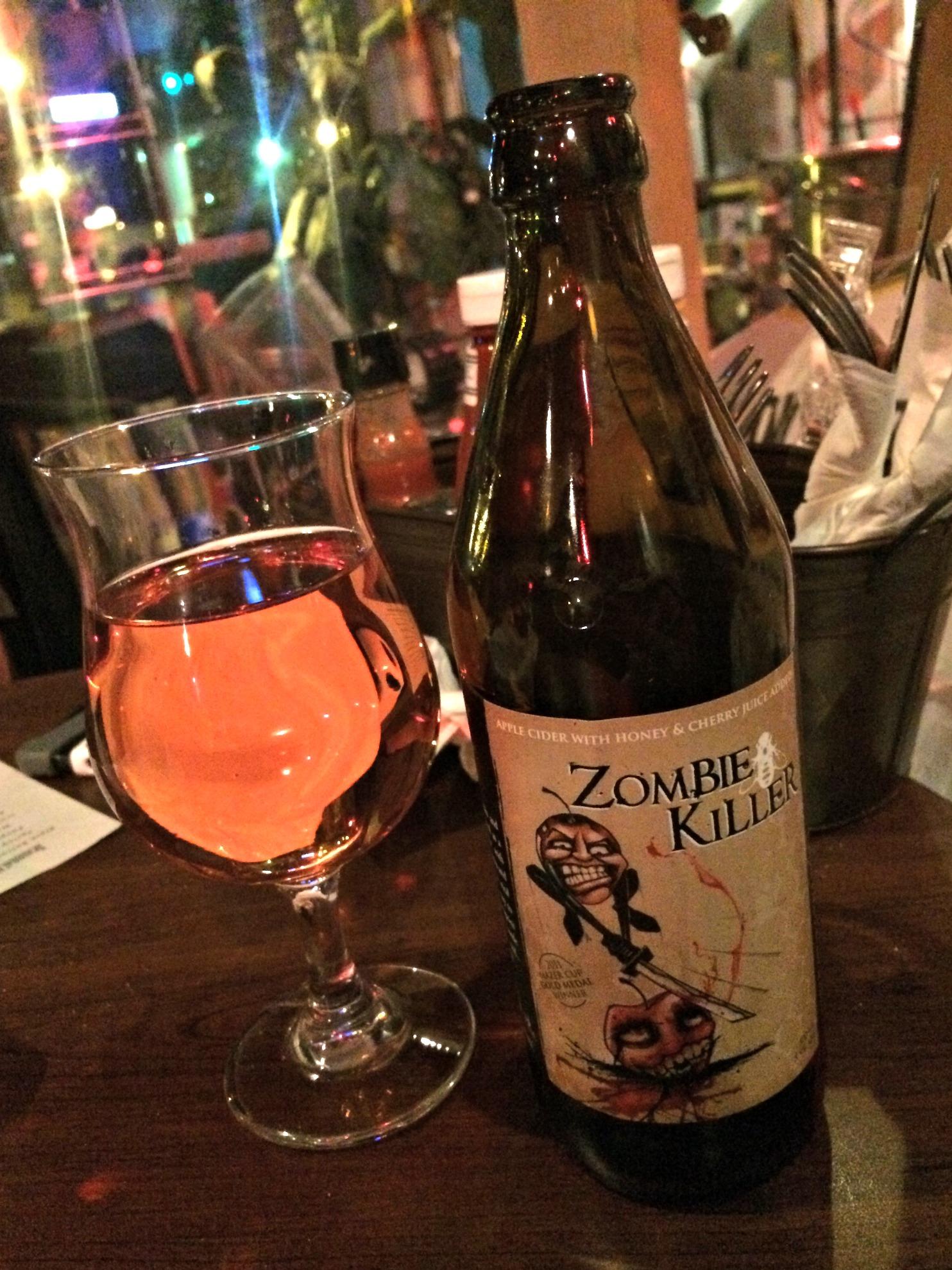 zombie killer cider