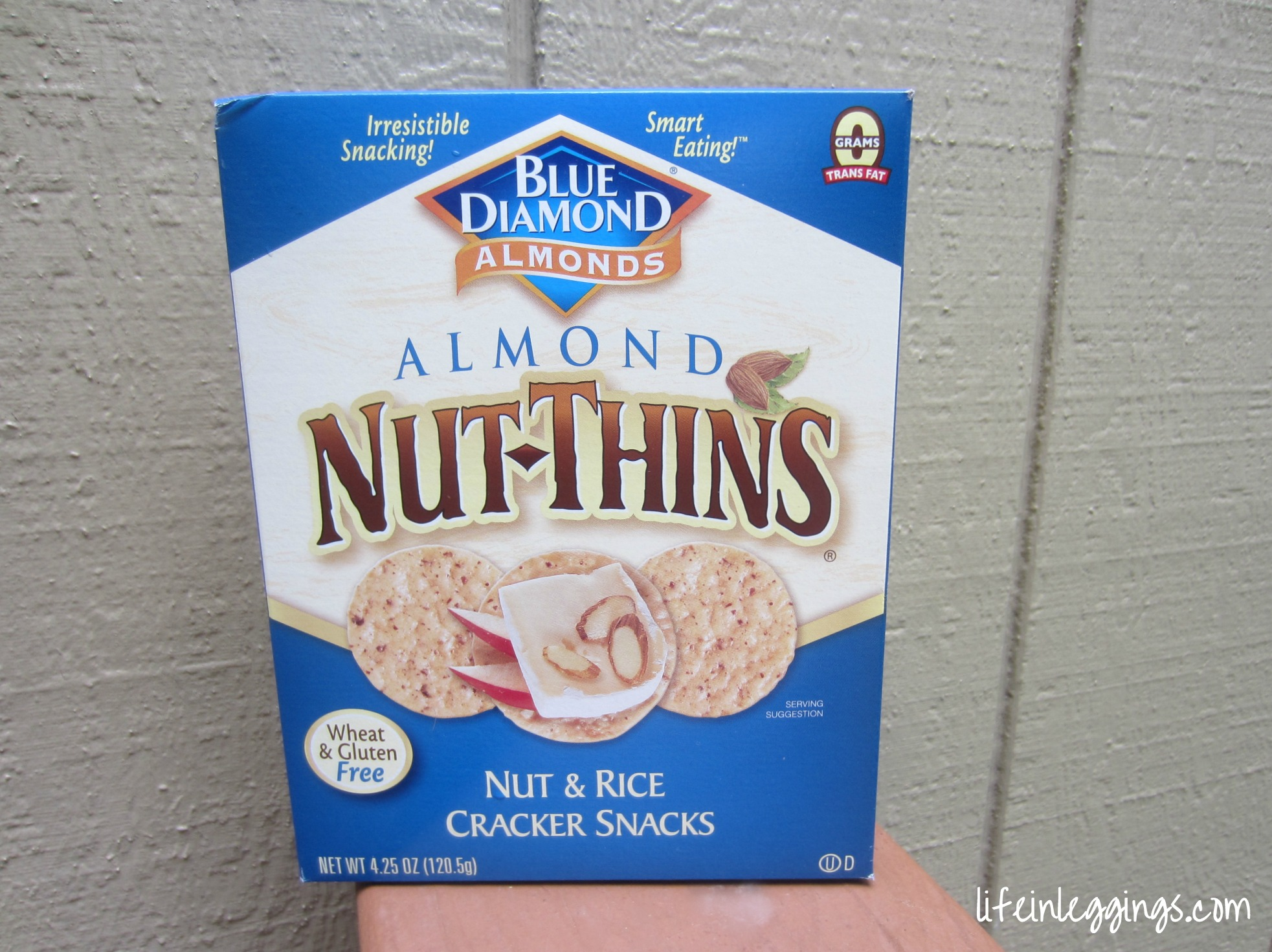 Blue Diamond Nut Thins Nut & Rice Crackers
