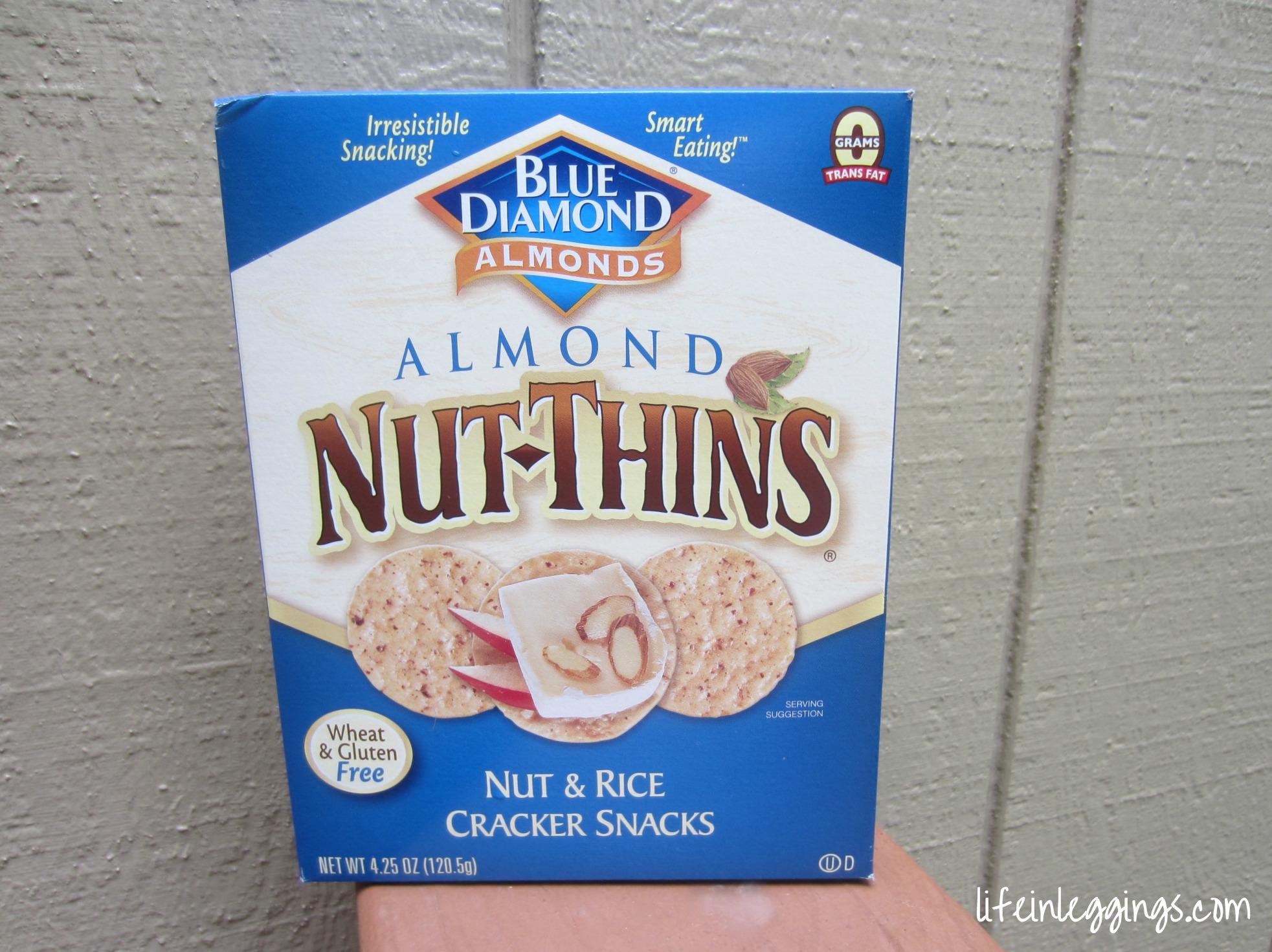 Blue Diamond Nut Thins Nut & Rice Crackers