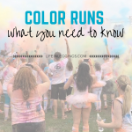 what to bring to a color run