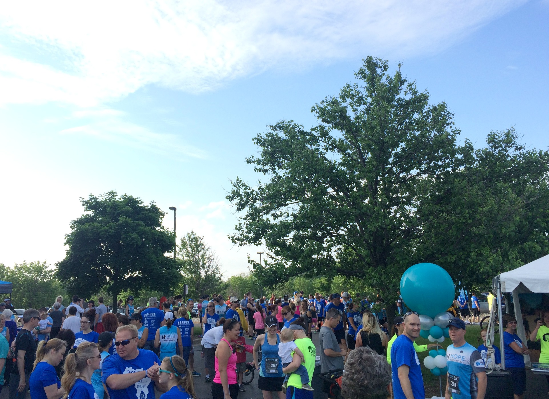 Hope Water Project 5k 2015