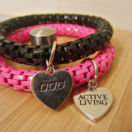 Lorna Jane active living bracelets